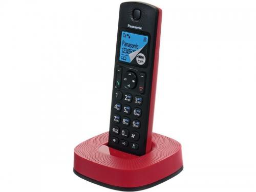 Радиотелефон Panasonic KX-TGC310RUR Red/Black, вид 1