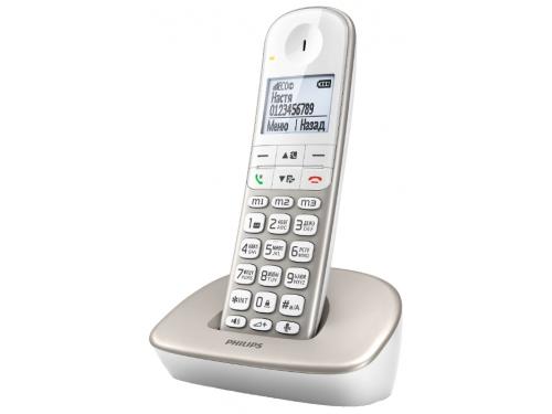 Радиотелефон Philips DECT XL4901S/51 Бежевый, вид 2