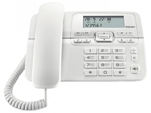 Проводной телефон Philips CRD200W/51 Белый, вид 1
