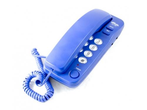 Проводной телефон Ritmix RT-100 Синий, вид 1