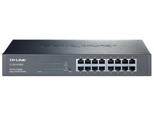 Коммутатор (switch) TP-LINK TL-SG1016DE, вид 1