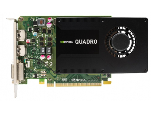 Видеокарта профессиональная PNY Quadro K2200 PCI-E 2.0 4096Mb 128 bit DVI (VCQK2200-PB), вид 1