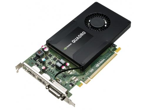 Видеокарта профессиональная PNY Quadro K2200 PCI-E 2.0 4096Mb 128 bit DVI (VCQK2200-PB), вид 2