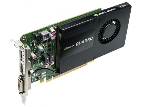 Видеокарта профессиональная PNY Quadro K2200 PCI-E 2.0 4096Mb 128 bit DVI (VCQK2200-PB), вид 3