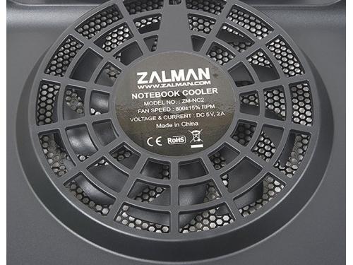 Подставка для ноутбука ZALMAN ZM-NC2 (теплоотводящая подставка, USB), чёрная, вид 5