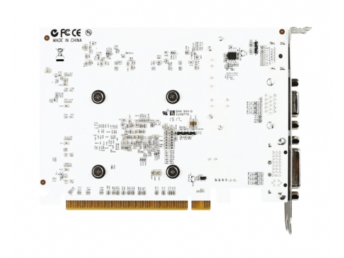 Видеокарта GeForce MSI GeForce GT 730 700Mhz PCI-E 2.0 2048Mb 1800Mhz 128 bit DVI HDMI HDCP (N730-2GD3 V2), белая, вид 2
