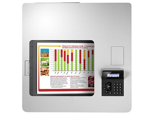 Лазерный цветной принтер HP Color LaserJet Enterprise M553dn, вид 5