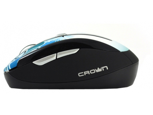 Мышка CROWN CMM-927W Blue USB, вид 3
