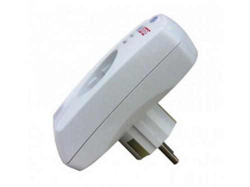 Сетевой фильтр PILOT Single (1 розетка, 3500 VA, заземление), белый, вид 2