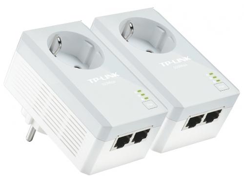 PowerLine-адаптер TP-LINK TL-PA4020PKIT, комплект адаптеров, вид 1