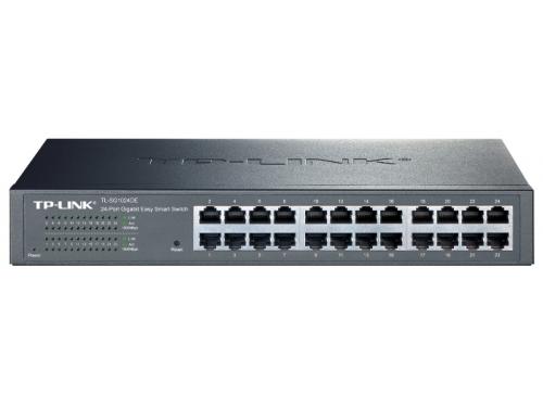 Коммутатор (switch) TP-LINK TL-SG1024DE, вид 1