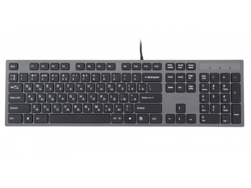 Клавиатура A4Tech KV-300H light Grey USB (ножничная, 2x USB), вид 2