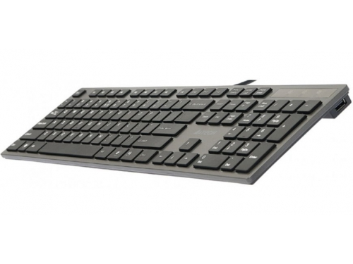 Клавиатура A4Tech KV-300H light Grey USB (ножничная, 2x USB), вид 3