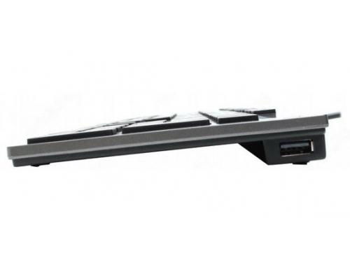 Клавиатура A4Tech KV-300H light Grey USB (ножничная, 2x USB), вид 6