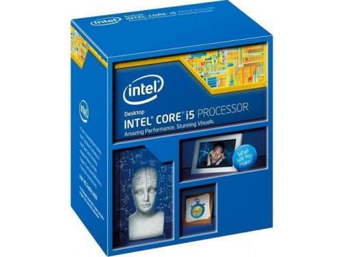 Процессор Intel Core i5-4590 Haswell (3300MHz, LGA1150, L3 6144Kb, Retail), вид 1