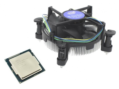 Процессор Intel Core i5-4590 Haswell (3300MHz, LGA1150, L3 6144Kb, Retail), вид 2