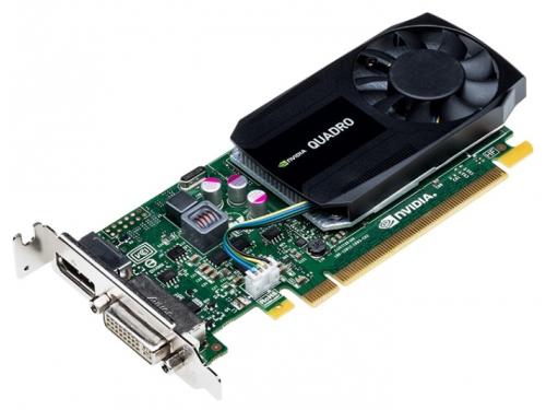Видеокарта профессиональная PNY Quadro K620 PCI-E 2.0 2048Mb 128 bit DVI (VCQK620BLK-1), вид 2