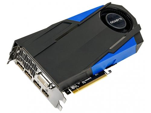 Видеокарта GeForce GIGABYTE GeForce GTX 970 1076Mhz PCI-E 3.0 4096Mb 7010Mhz 256 bit DVI HDMI 3xDP (GV-N970TTOC-4GD), вид 1