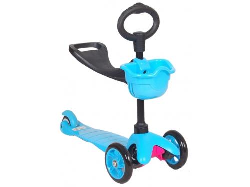 Самокат 21st Scooter Maxi Scooter, синий, вид 1