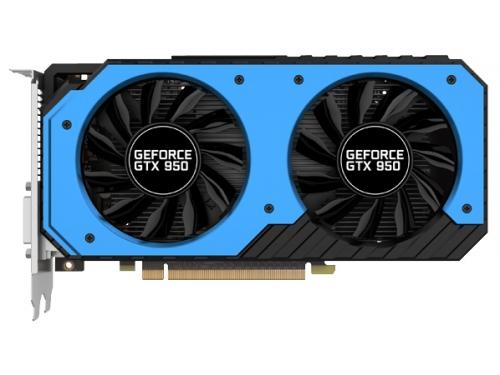 ���������� GeForce Palit GeForce GTX 950 1064Mhz PCI-E 3.0 2048Mb 6610Mhz 128 bit 2xDVI HDMI HDCP (NE5X950S1041-2063F), ��� 1
