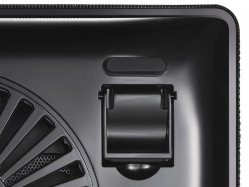 Подставка для ноутбука DEEPCOOL N1 (охлаждающая), чёрная, вид 6