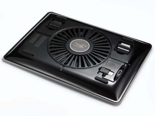 Подставка для ноутбука DEEPCOOL N1 (охлаждающая), белая, вид 3