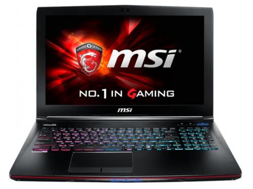 Ноутбук MSI GE62 2QF Apache Pro , вид 1
