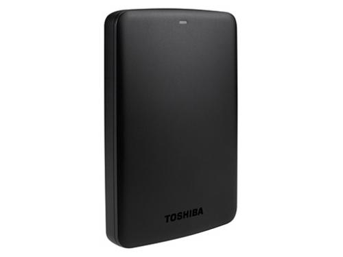Жесткий диск Toshiba CANVIO BASICS 500GB, чёрный, вид 2