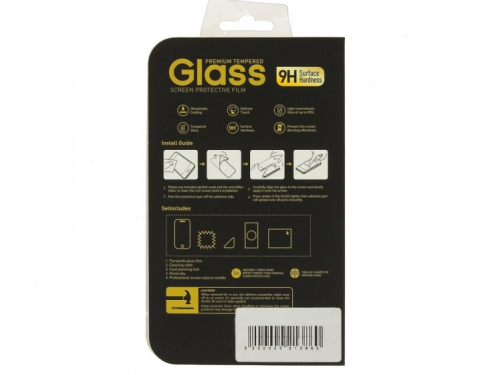 Защитное стекло для смартфона Glass Pro для Apple iPhone 6/6s Full Screen, черное, вид 1
