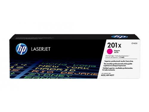 Картридж HP 201X Пурпурный, вид 1