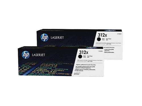 Картридж HP 312X 2-pack Черный (2 шт), вид 1