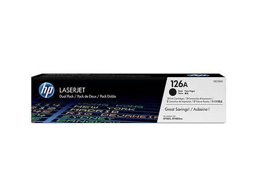 Картридж HP 126A 2-pack Черный, вид 1
