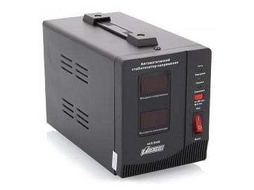 Сетевой фильтр Стабилизатор напряжения PowerMan AVS 1500D 1500VA чёрный, вид 1