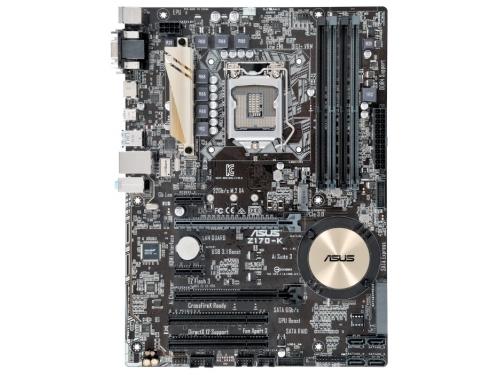 Материнская плата ASUS Z170-K (Socket 1151, Intel Z170, DDR4, ATX, VGA / DVI-D / HDMI), вид 1
