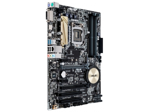 Материнская плата ASUS Z170-P (Socket 1151, Intel Z170, DDR4, ATX, DVI-D / HDMI), вид 3