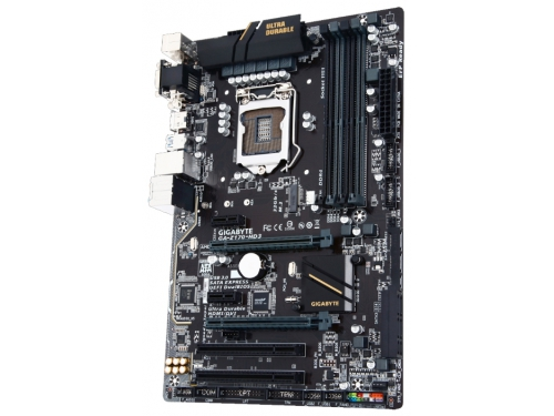 Материнская плата GIGABYTE GA-Z170-HD3 DDR4, вид 2