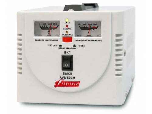 ������������ ���������� PowerMan AVS-500M (500 ��, 2 �������, �������������������), ��� 1