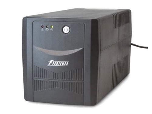 Источник бесперебойного питания Powerman Back Pro 1000 Plus (интерактивный, 4 розетки, USB), вид 1