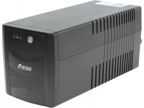 Источник бесперебойного питания Powerman Back Pro 1000 Plus (интерактивный, 4 розетки, USB), вид 2