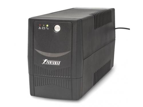 Источник бесперебойного питания Powerman Back Pro Plus 800 BA (интерактивный, 2 розетки, USB), вид 1