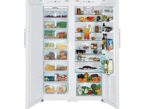 Холодильник Liebherr SBS 7252 (SGN 3010 + SK 4210) белый, вид 1
