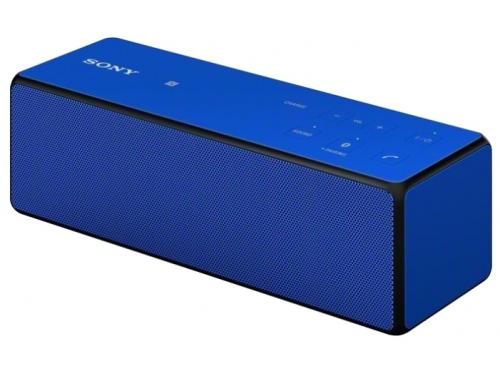 Портативная акустика Sony SRS-X33 сине - голубой, вид 1