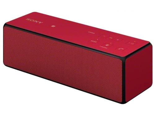 Портативная акустика Sony SRS-X33 красная, вид 1
