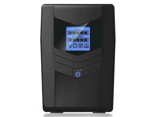 Источник бесперебойного питания Ippon Back Power Pro LCD 600 Euro (360 Вт, 600 ВА), чёрный, вид 2