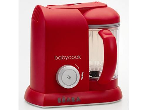 Пароварка электрическая Beaba Babycook Solo (блендер), красная, вид 1