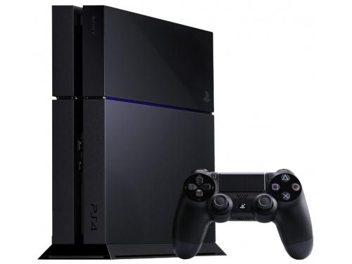 Игровая приставка Sony PlayStation 4 500Gb (CUH-1208A), чёрная, вид 1