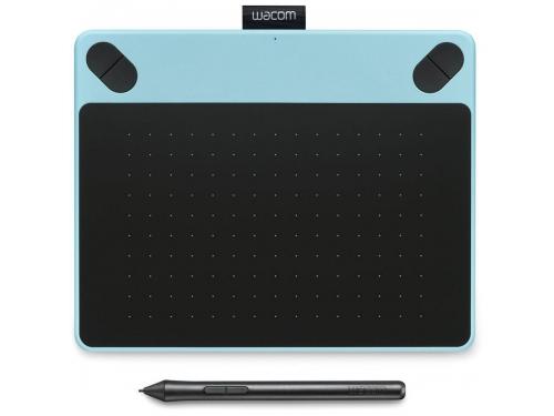 Планшет для рисования WACOM Intuos Draw Pen Small (CTL-490DB-N), голубой, вид 1