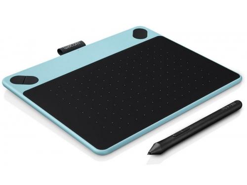 Планшет для рисования WACOM Intuos Draw Pen Small (CTL-490DB-N), голубой, вид 2