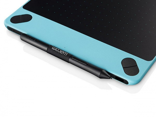 Планшет для рисования WACOM Intuos Draw Pen Small (CTL-490DB-N), голубой, вид 4