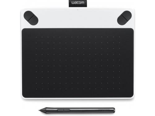 Планшет для рисования WACOM Intuos Draw Pen Small (CTL-490DW-N), белый, вид 1